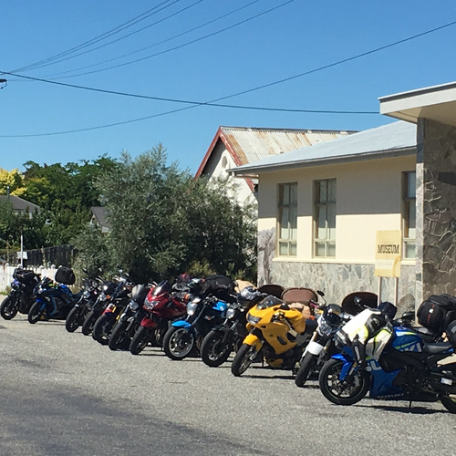 Clyde stop on the Coast to Coast 2018
