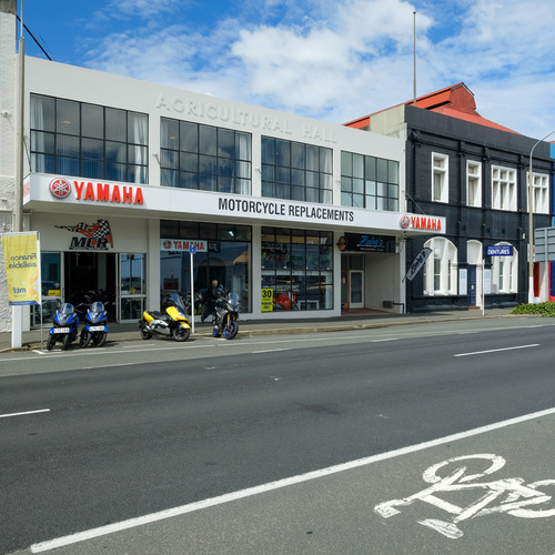 MCR Motorcycle Replacements Dunedin Showroom