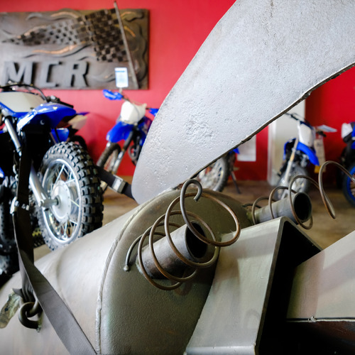 MCR Motorcycle Replacements Dunedin Showroom display