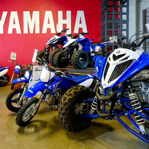 MCR Motorcycle Replacements Dunedin Showroom off-road