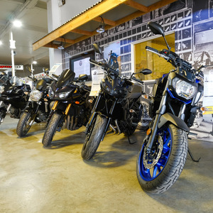 Bikes and Showroom