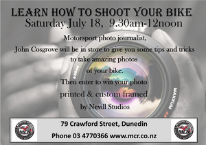 Learn how to take amazing photos of your bike!