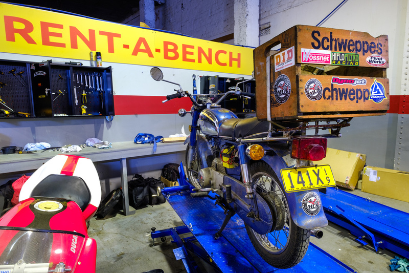 MCR Motorcycle Replacements Rent-a-bench