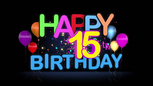 Its our 15th Birthday!!