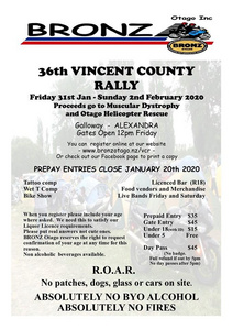 Vincent County Rally - 31 Jan 2020